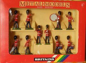 Britains - 10 gardes écossais tambour et clairon Art.   7206