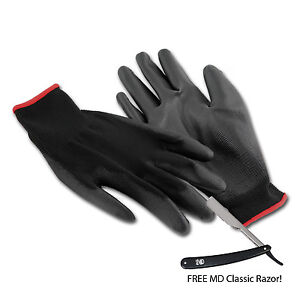 Barber Gloves : MD-Barber-Elite-Heat-Resistent-Barber-Gloves-4-pairs-w-Free-MD-Classic ...