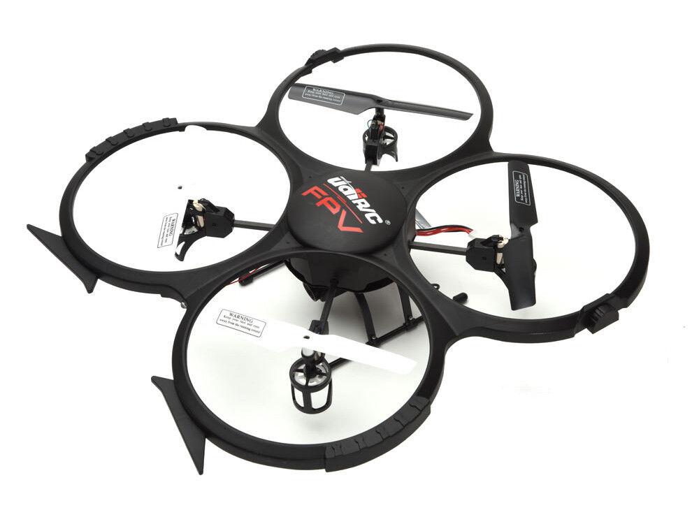 UDI U818A-FPV Discovery Drone ELECTRIC 6-Axis Quadcopter con TELECAMERA HD FPV