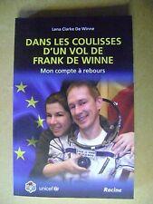 Livre Dans les coulisses d'un vol de Franck de Winne Mon compte à rebours  /A20