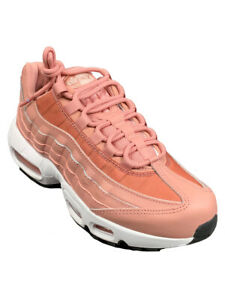 Details about Nike Womens Air Max 95 Rust Pink Sneaker Shoes 307960 606 New