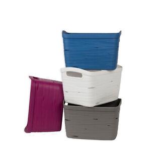 7-2-Liter-Haushaltsbehalter-Behalter-Regalkorb-Korbchen-Aufbewahrungskorb