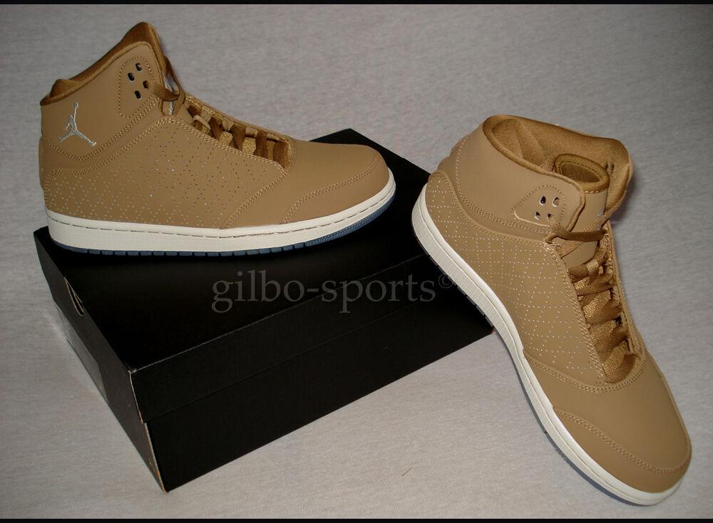 Nike Air Jordan 1 Flight 5 Premium Golden Beige Bone Gr. 40 40,5 Neu 881434 202