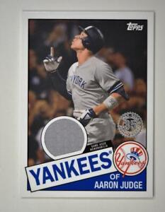 2020-Topps-Series-2-1985-Baseball-Relic-85TR-AJ-Aaron-Judge-New-York-Yankees