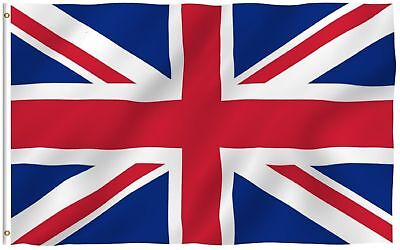 World Cup United Kingdom Flag U.K Great Britain Country Flag Polyester 3x5 ft