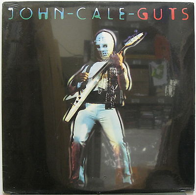 John Cale Guts 1977 Us Org Sealed Lp Briano Eno Roxy Music