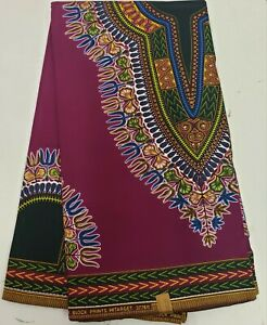 High Quality /& Exclusive African Ankara Wax Print Sell by 6 Yards 100/% Cotton