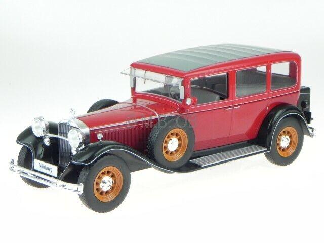 Mercedes Typ Nürburg 460 460 K 1928 rot Modelauto 18032 MCG 1 18