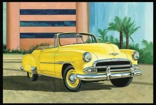 Chevy Bel Air 1951 Congreenible 1 25 Scale AMT Plastic Kit