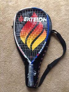 Ektelon airdrive 1600 Racquetball Raquette à manches courtes Grip + Gant & HC EXCELLENT ***-afficher le titre d`origine qGe1n4b9-07164003-306630476