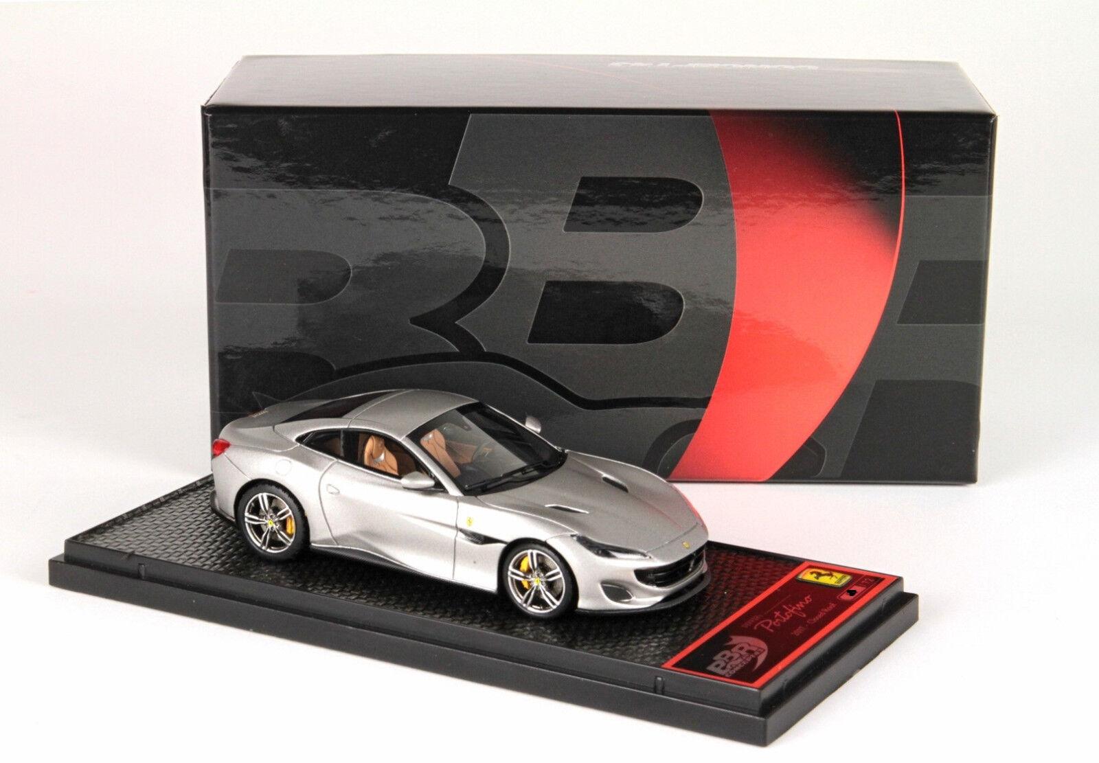 Ferrari Portofino Closed Roof - IAA Frankfurt 2017 Matt Alluminium 1 43 BBRC209B