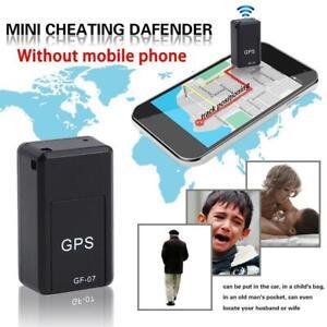 Mini GPS Echtzeit-Ortungsautomat Tracker Magnetisches GSM GPRS-Ortungsgerät