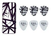Eddie Van Halen Guitar Picks Evh Black Stripes Max Grip Pick Tin Collectible
