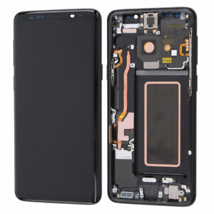 For Samsung Galaxy S9 Plus G965 LCD Display Touch Screen Assembly Midnight Black