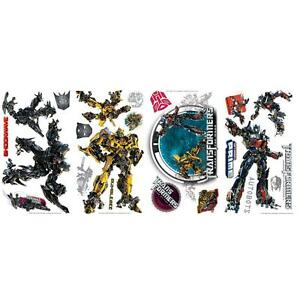 Transformers 3 Dark Of The Moon Wall Sticker. Applique Decal-afficher Le Titre D'origine CaractèRe Aromatique Et GoûT AgréAble