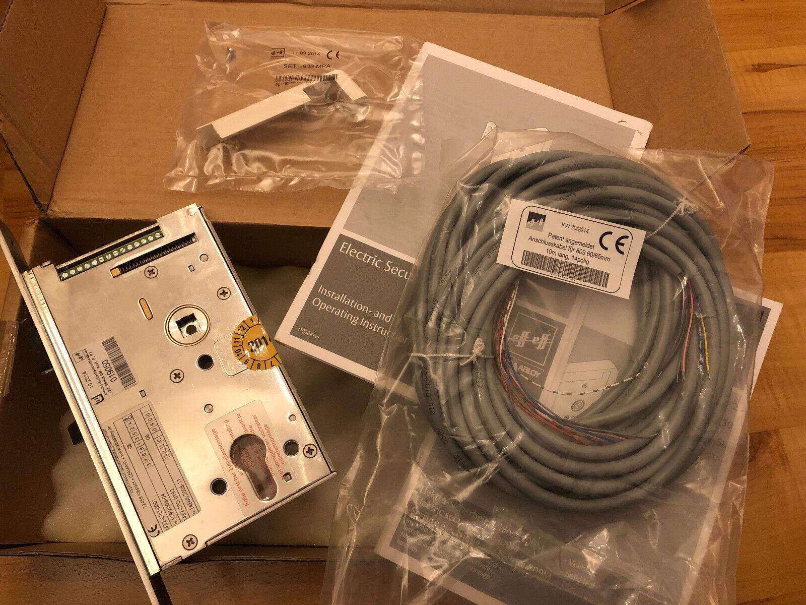 DORMA E-Sicherheitsschloß, Mod.809-12E-12 Honeywell Security 019050 NEU OVP