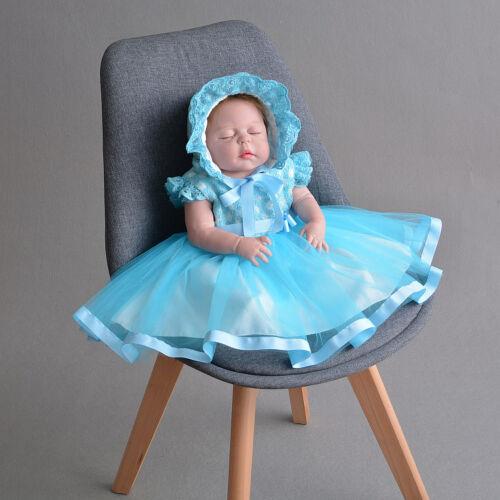 Niñas Vestidos de Fiesta Capó Amarillo Rosa Azul 0 3 6 12 18 24 Meses