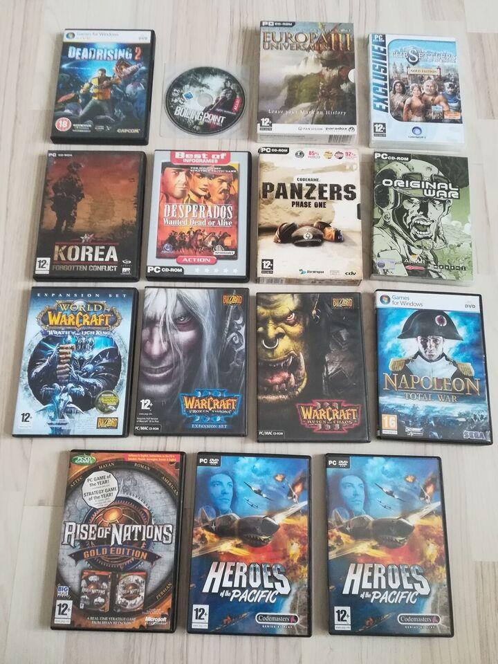 Blandede PC spil, anden genre