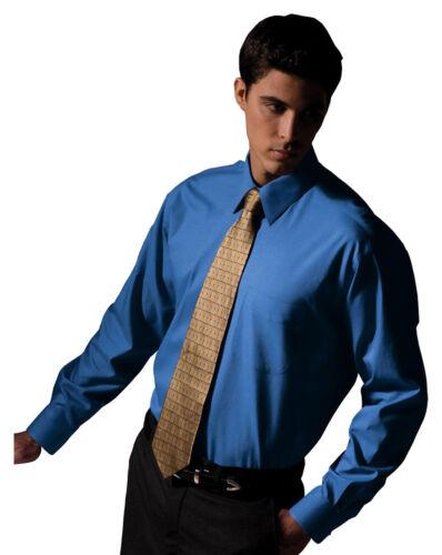 1965 Edwards Garment New Men/'s Long Sleeve Point Collar Oxford Dress Shirt