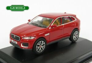 BNIB-OO-GAUGE-OXFORD-DIECAST-1-76-76JFP003-Jaguar-F-Pace-Italian-Red-Sports-Car