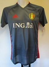 BELGIUM 2016/17 GREY TRAINING SHIRT BY ADIDAS SIZE SMALL BRAND NEW WITH TAGS