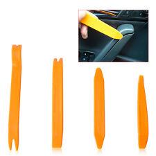 4pcs Auto Car Radio Door Clip Panel Trim Dash Audio Removal Installer Pry Tool