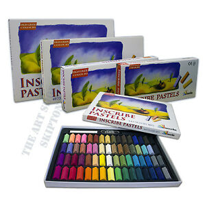 Inscribe / Mungyo Artist's Soft Pastels Box Set - 24, 32, 48 or 64 Colours
