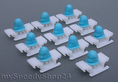 10  ZIERLEISTEN KLAMMERN passend für BMW 3er E36-51131960054