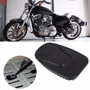Non Slip Motorcycle Kickstand Plate Kick Stand Pad For Yamaha Bike Parts Jian Ebay