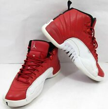 the latest 67384 973e7 Nike Men's Sz 9 Air Jordan 12 Retro Alternate Gym Red White 130690 600