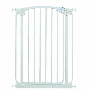 Dreambaby Extra Tall Swing Closed Stair Gate White Tall Safety Gate