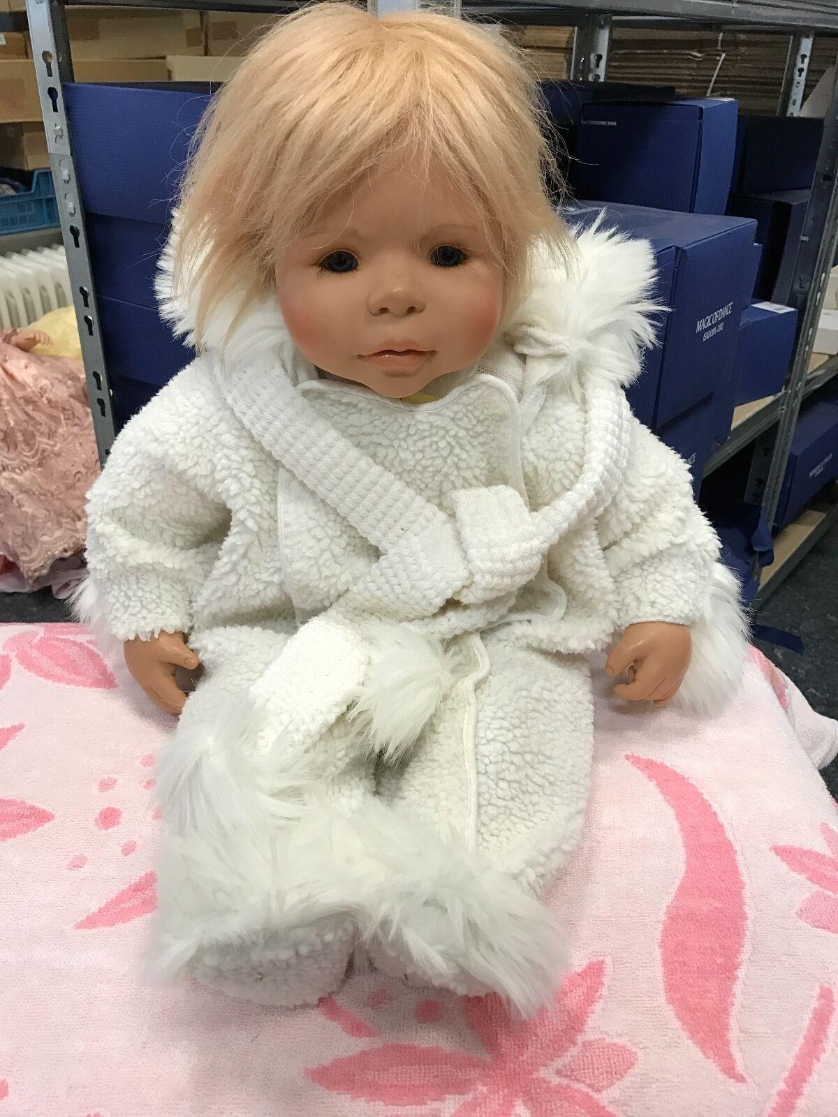 Evelyn leman muñeca de vinilo 63 cm. top estado