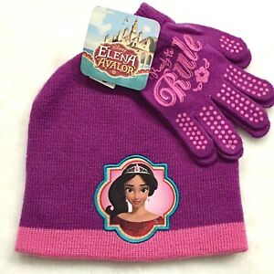 new product 6ebeb 34ce5 Image is loading DISNEY-Princess-Elena-Of-Avalor-Winter-Hat-Beanie-