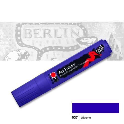 15 mm pflaume Marabu 12715037 Marabu Acrylmarker Art Painter