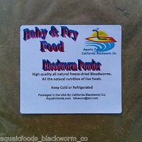 Blood Worm Powder Fry & Baby Food