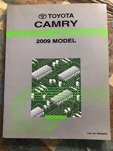 Toyota Camry Repair Manual Electrical Wiring Diagram 2009 ...