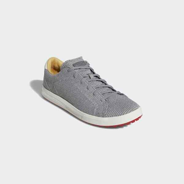 Mens adidas Adipure SP Knit Spikeless Golf Shoes Ee9194 Grey Size 10 M