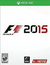 F1 2015 Formula 1 USED SEALED  (Microsoft Xbox One, 2015)