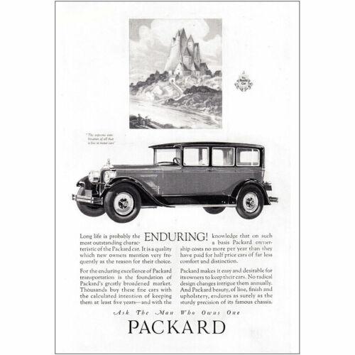 1927 Packard Enduring Supreme Combination Vintage Print Ad