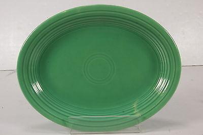 Vtg Homer Laughlin Fiestaware Original FIESTA Green Oval Platter Plate