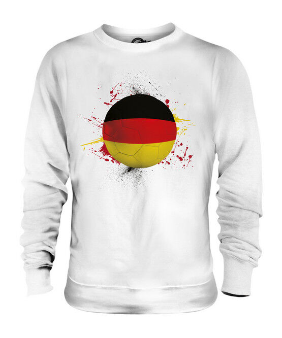 GERMANY FOOTBALL UNISEX SWEATER  TOP GIFT WORLD CUP SPORT