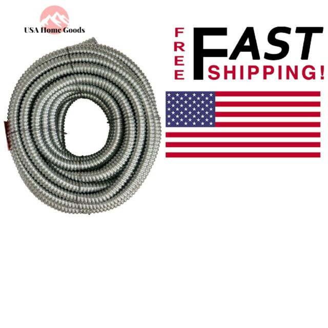 Fine Afc Cable Systems 3 4 X 100 Ft Flexible Steel Conduit For General Wiring Digital Resources Bemuashebarightsorg