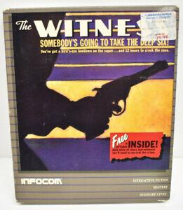 Vintage THE WITNESS Atari XL/XE Infocom Video Game
