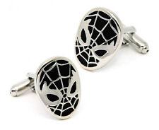 Spiderman Cufflinks - Groomsmen Gift - Men's Jewelry - Gift Box