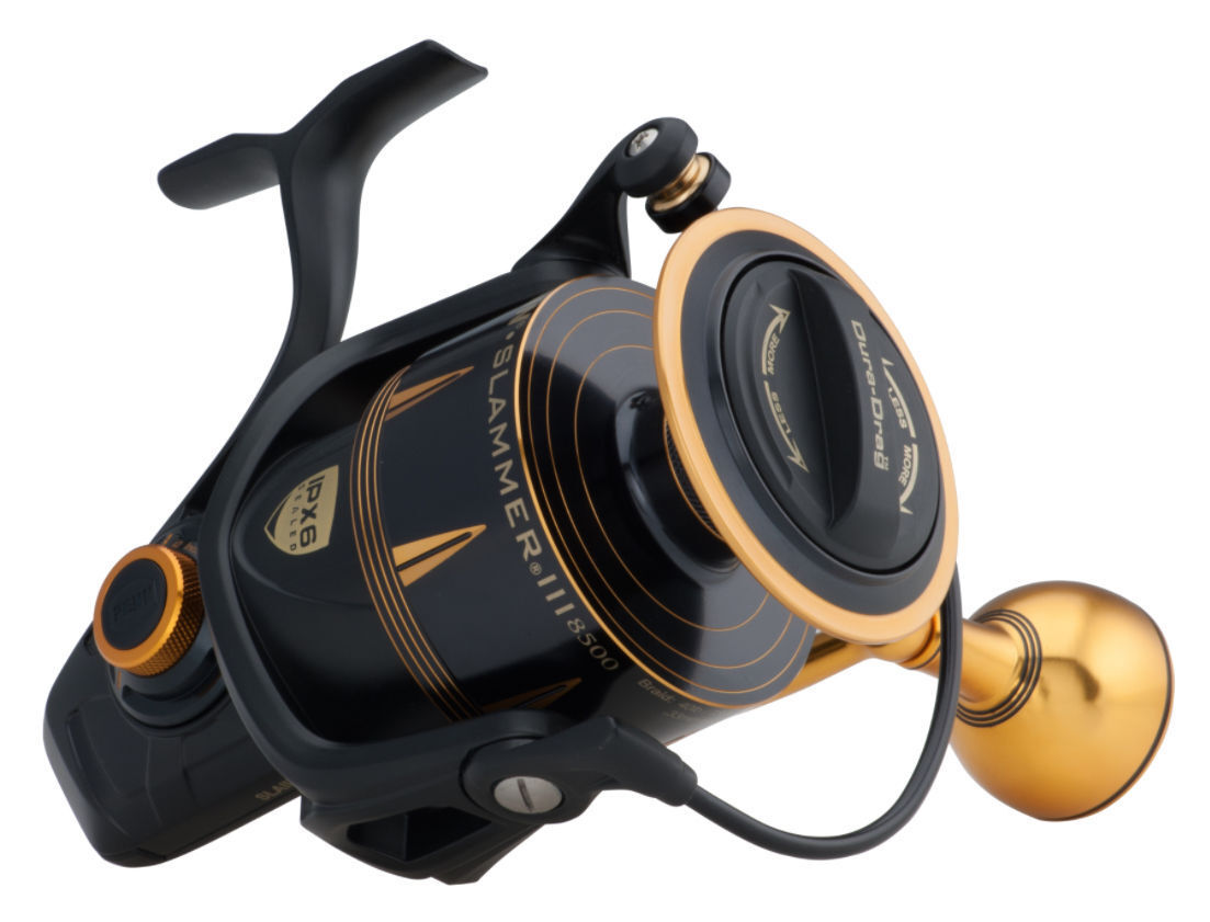 Penn Slammer III 9500 IPX6 Sealed Reel System Spinning Fishing Reel Sealed - SLAIII9500 5d0f24