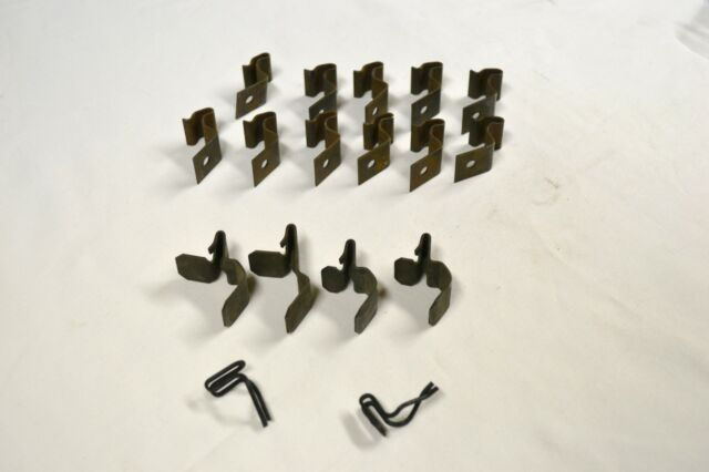 17 VINTAGE GM ORIGINAL DOOR PANEL RETAINERS CLIPS CORVETTE CAMARO 60,S 70,S
