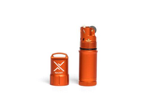Exotac titanlight Briquet étanche et rechargeable orange 005500-ORG