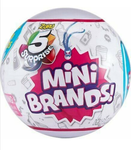 Styles Vary 5 surprise Mini marques Ball Par ZURU Brand New 2020