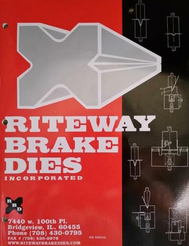 PRESS BRAKE DIE 30 DEGREE FORMING PUNCH #45 36 INCH
