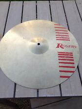"Free P&P. 16"" Rogers Crash For Drum Kit. Superior Beginner Cymbal"